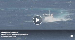 video traghetot mareggiata piero landini photos isola del giglio giglionews