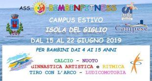 bimbinfitness campus estivo isola del giglio giglionews