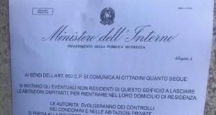 volantino volantini truffa carabinieri isola del giglio giglionews