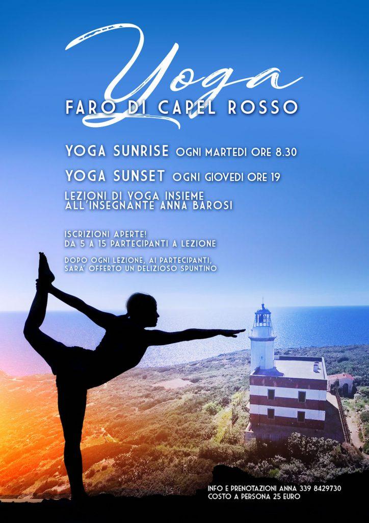 lezioni yoga faro capel rosso isola del giglio giglionews