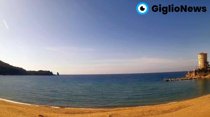 webcam giglio campese spiaggia
