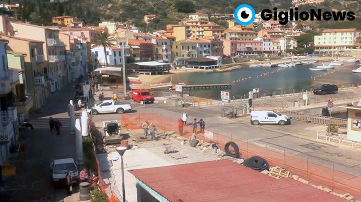 webcam giglio porto live