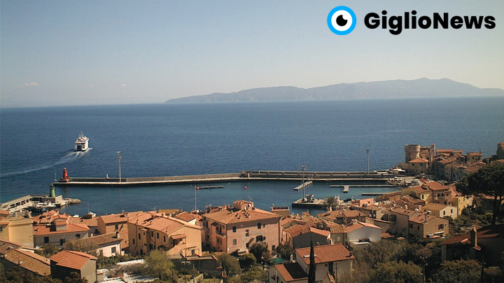 Isola del Giglio webcam panoramica
