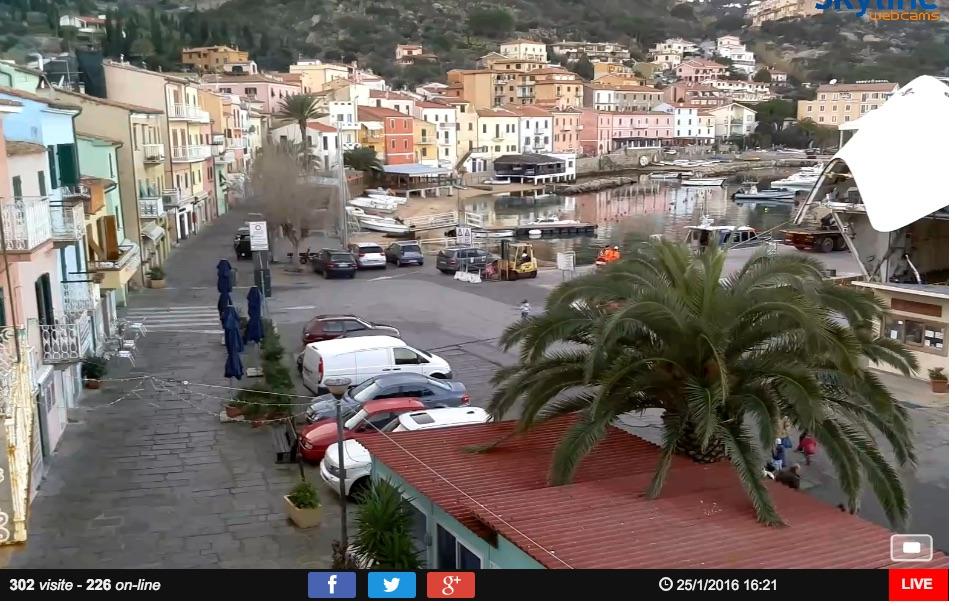 webcam isola del giglio porto giglionews
